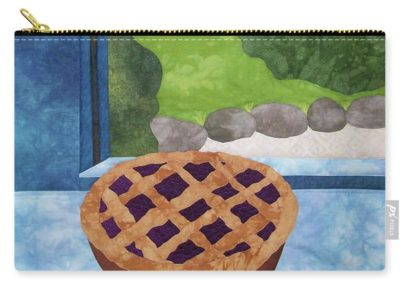 My Soul In A Blackberry Pie Carry-all Pouch