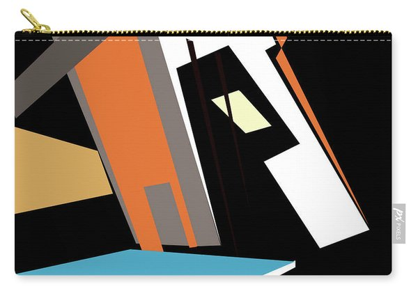 My World In Abstraction Carry-all Pouch