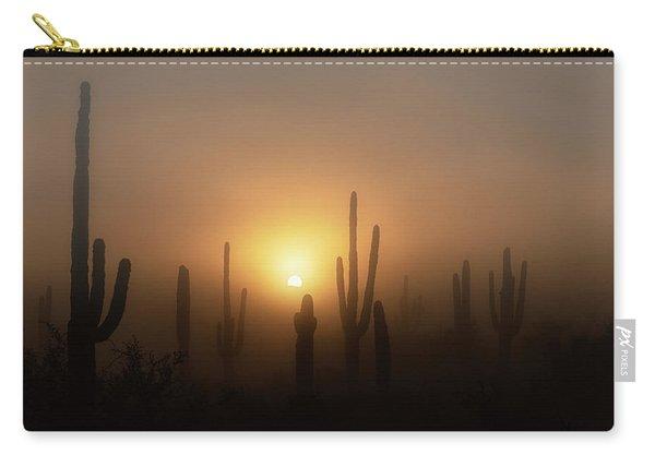 Mystic Desert Sunrise  Carry-all Pouch