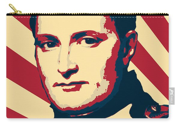 Napoleon Bonaparte Retro Propaganda Carry-all Pouch