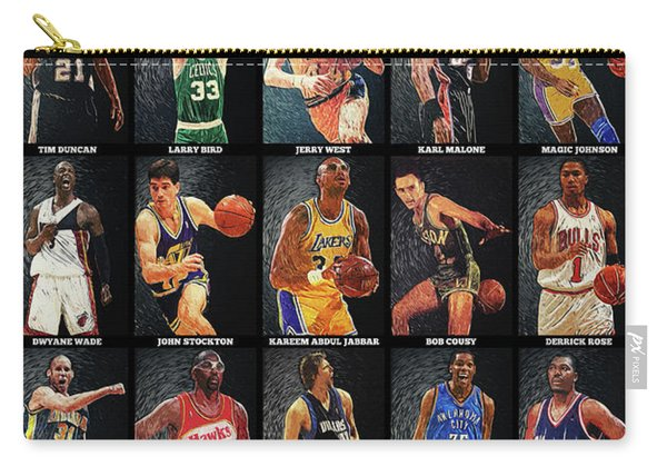 Nba Legends Carry-all Pouch