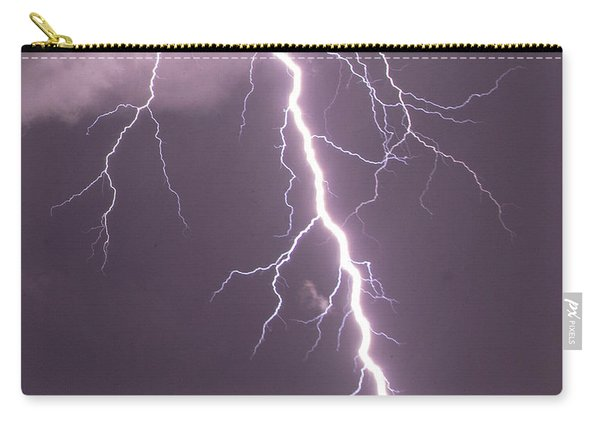 Nebraska Arcus And Lightning 046 Carry-all Pouch