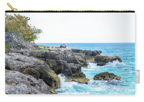 Negril Jamaica Cliffs Carry-all Pouch