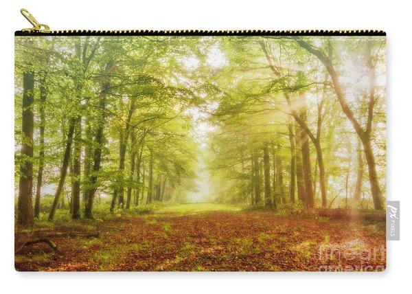 Neither Summer Nor Winter But Autumn Light Carry-all Pouch