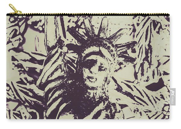 Neoclassical Lady Landmark Carry-all Pouch