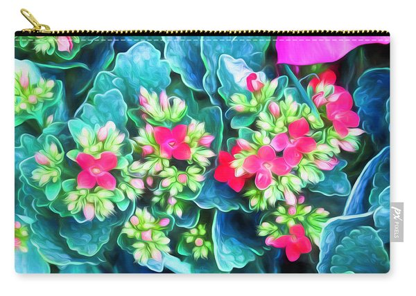 New Blooms Carry-all Pouch