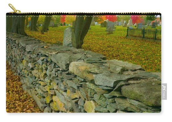 New England Stone Wall 2 Carry-all Pouch