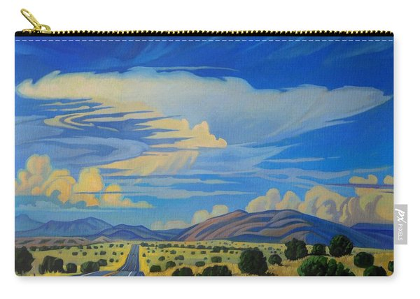 New Mexico Cloud Patterns Carry-all Pouch
