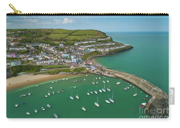 New Quay, Wales, From The Air Carry-all Pouch
