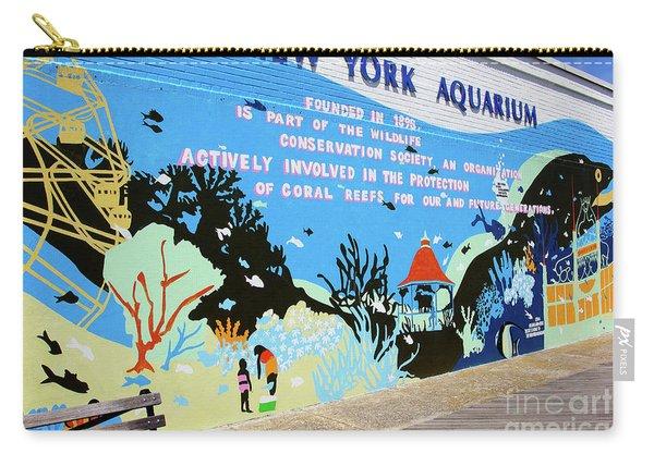 New York Aquarium, Coney Island, Brooklyn, New York Carry-all Pouch