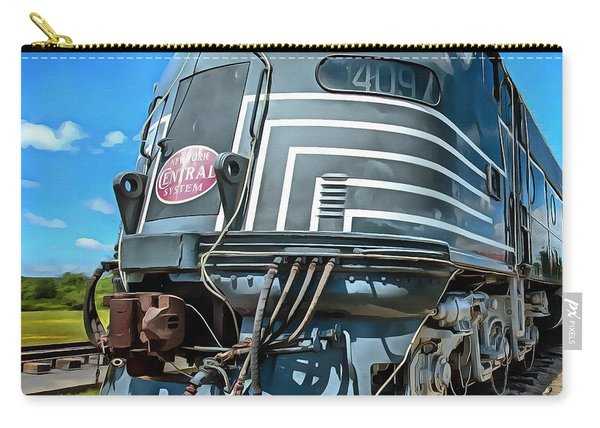 New York Central Locomotive Painting Carry-all Pouch