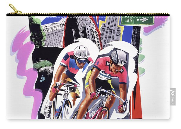 New York Cyclists Carry-all Pouch