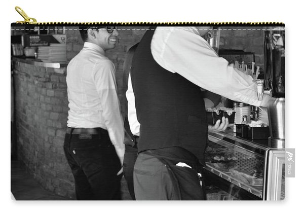 Carry-all Pouch featuring the photograph New York, New York 18 by Ron Cline