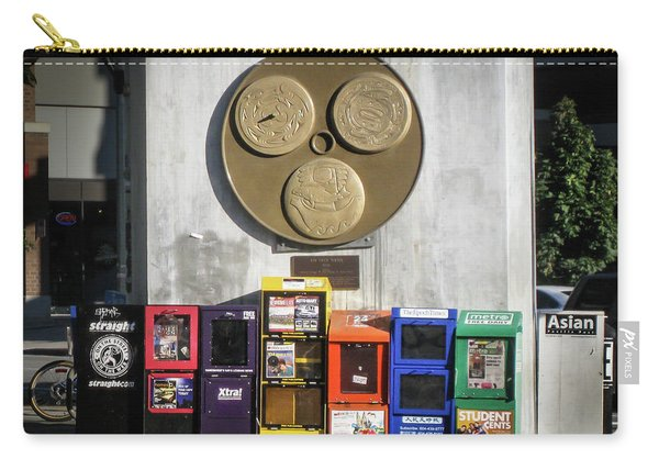 Newsstands At Gilmore Carry-all Pouch