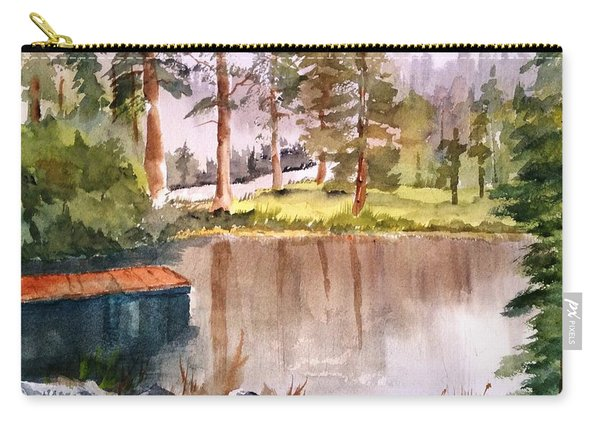 Nez Perce Lake Carry-all Pouch