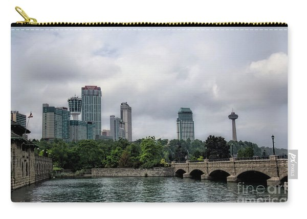 Niagara Falls Ontario Canada Skyline Carry-all Pouch