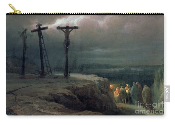 Night At Golgotha, 1869 Carry-all Pouch