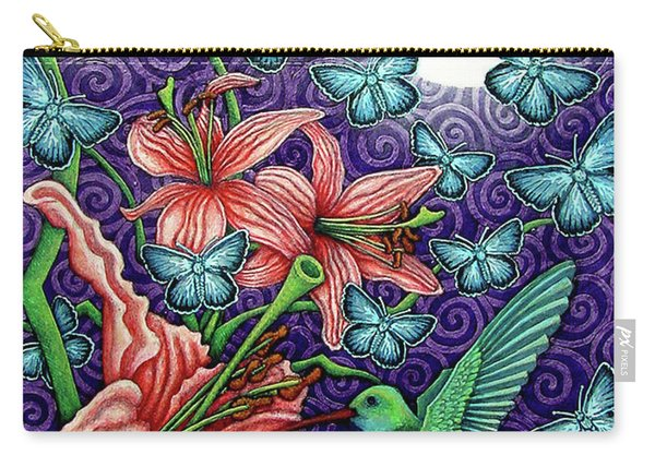 Night Garden 5 Carry-all Pouch