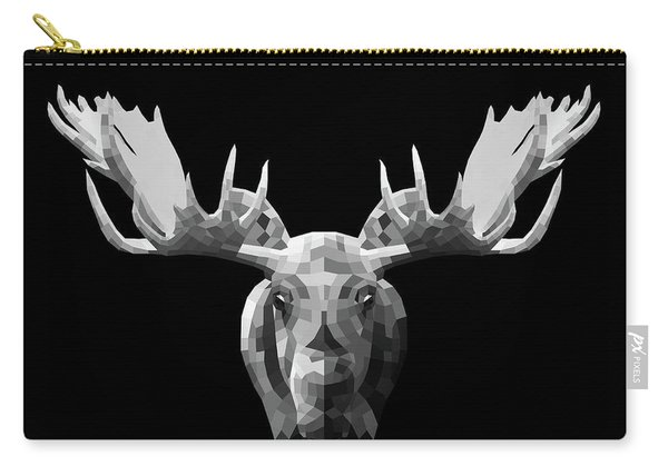 Night Moose Carry-all Pouch
