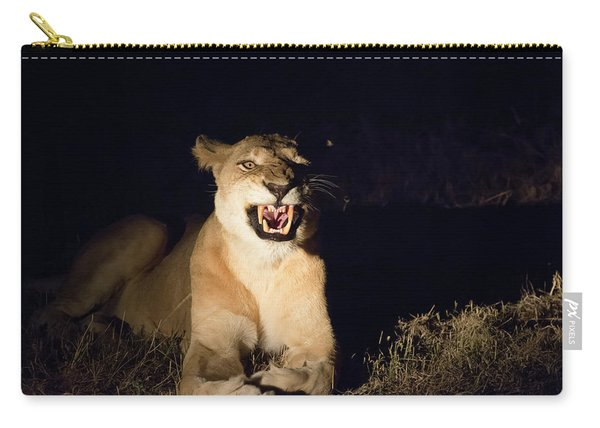Nightmare Lioness Carry-all Pouch