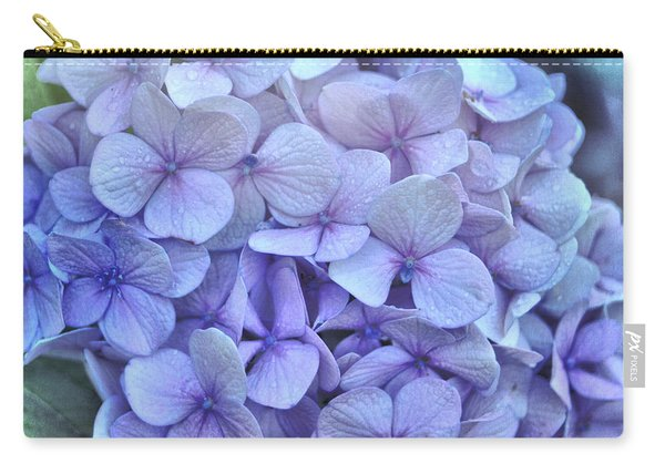 Nikko Blue Petals Carry-all Pouch