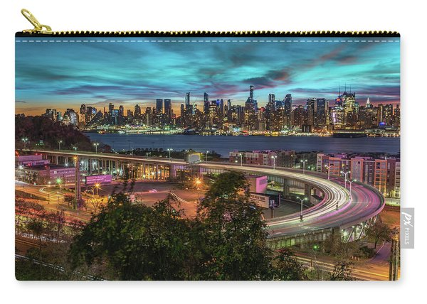 Nj And Ny Sunrise Carry-all Pouch