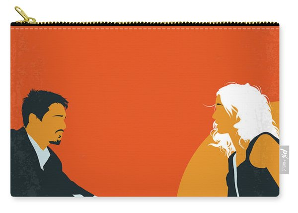 No1012 My Before Sunset Minimal Movie Poster Carry-all Pouch
