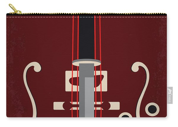 No1020 My Six-string Samurai Minimal Movie Poster Carry-all Pouch