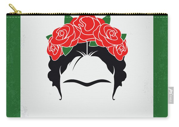 No1025 My Frida Minimal Movie Poster Carry-all Pouch