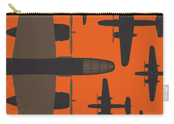 No1047 My Catch 22 Minimal Movie Poster Carry-all Pouch