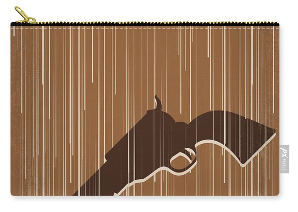No1050 My Unforgiven Minimal Movie Poster Carry-all Pouch