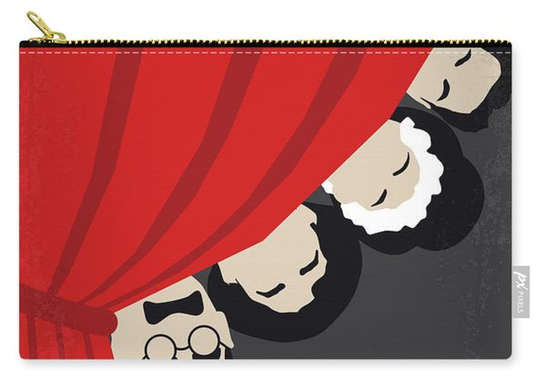 No1053 My A Night At The Opera Minimal Movie Poster Carry-all Pouch