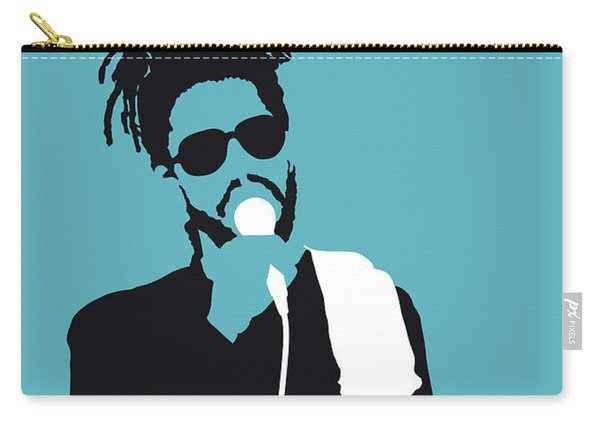No225 My Peter Tosh Minimal Music Poster Carry-all Pouch