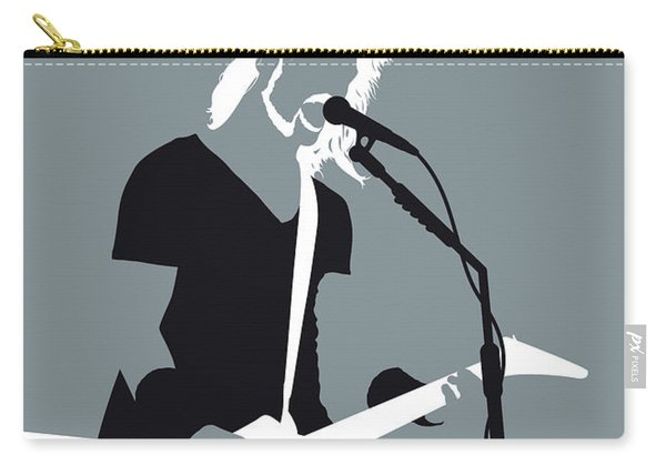 No257 My Metallica Minimal Music Poster Carry-all Pouch