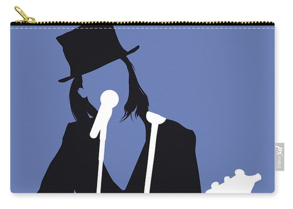 No298 My Suzanne Vega Minimal Music Poster Carry-all Pouch