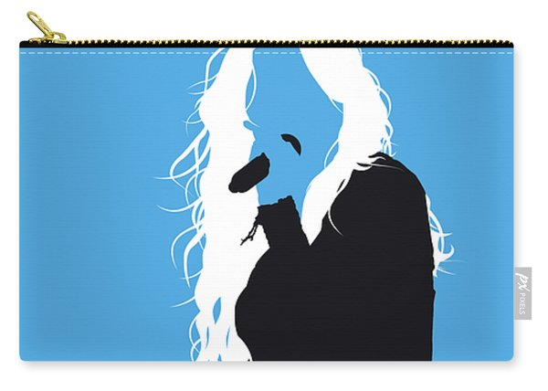 No299 My Miley Cyrus Minimal Music Poster Carry-all Pouch