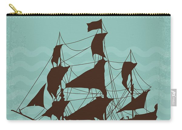 No494-5 My Pirates Of The Caribbean V Minimal Movie Poster Carry-all Pouch
