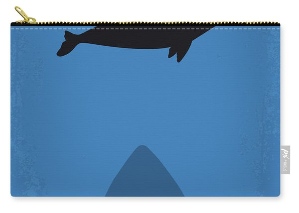 No985 My Meg Minimal Movie Poster Carry-all Pouch