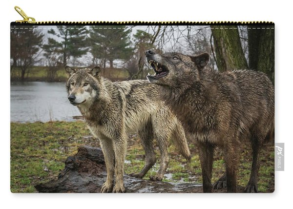 Noisy Wolf Carry-all Pouch