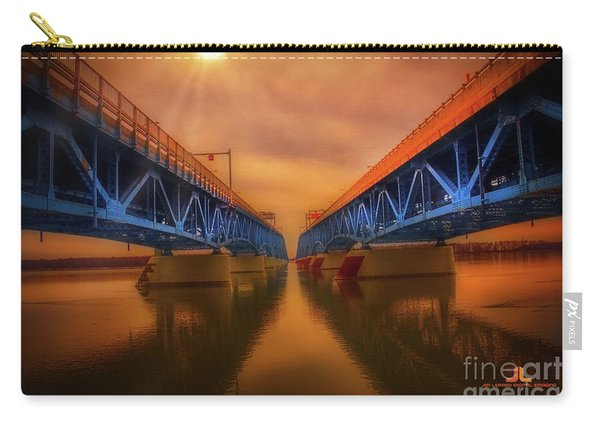 North Grand Island Bridge Carry-all Pouch