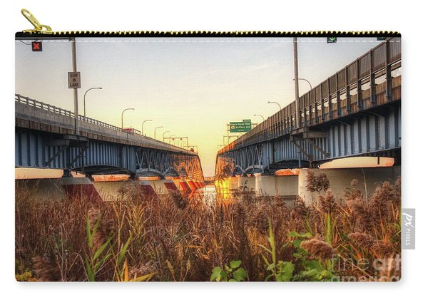 North Grand Island Bridges Carry-all Pouch