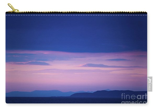 North Wales In The Evening Carry-all Pouch