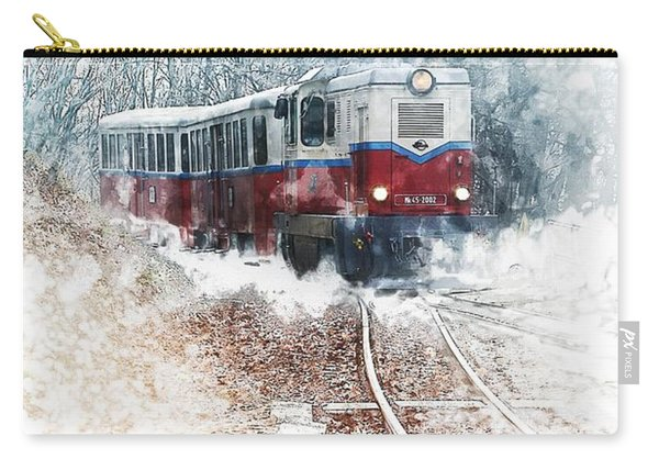 Northern European Train Carry-all Pouch