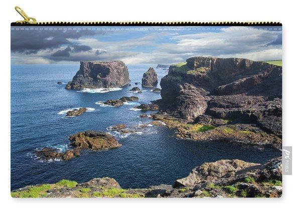 Northmavine Coast, Shetland Isles Carry-all Pouch