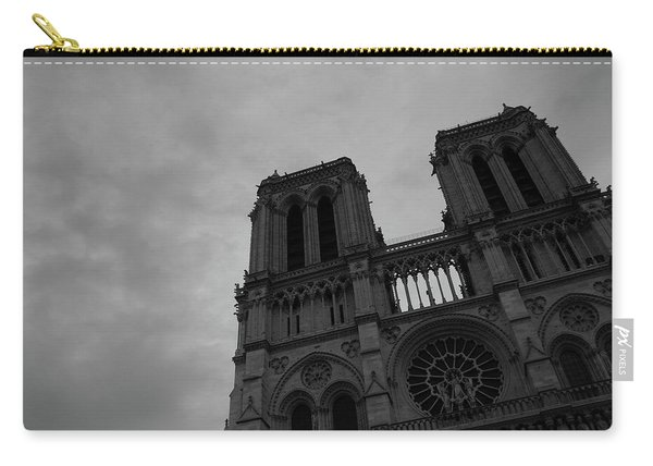 Carry-all Pouch featuring the photograph Notre Dame Cathedral by Edward Lee