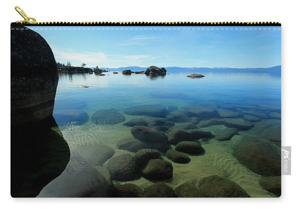 Carry-all Pouch featuring the photograph November Nirvana by Sean Sarsfield