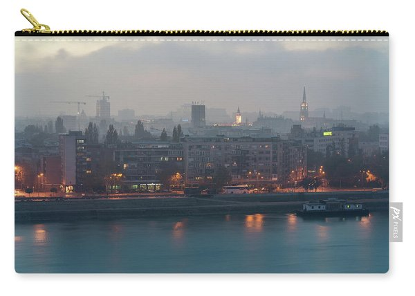 Novi Sad Night Cityscape Carry-all Pouch