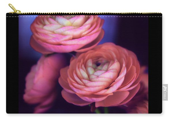 Ranunculus Trio Carry-all Pouch