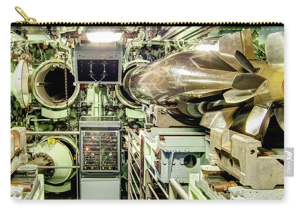 Nuclear Submarine Torpedo Room Carry-all Pouch