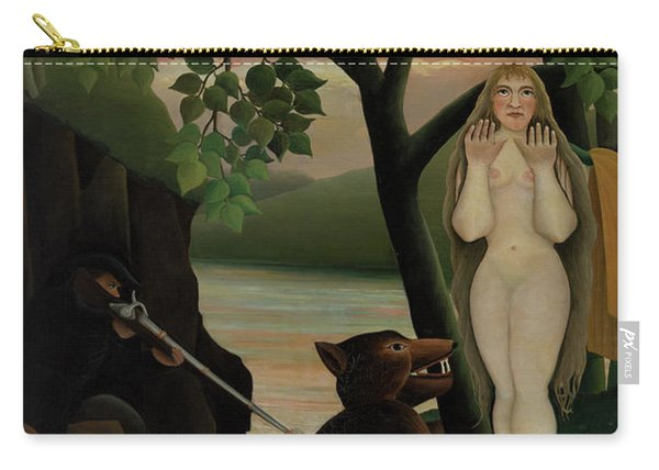 Nude And Bear, 1901  Carry-all Pouch